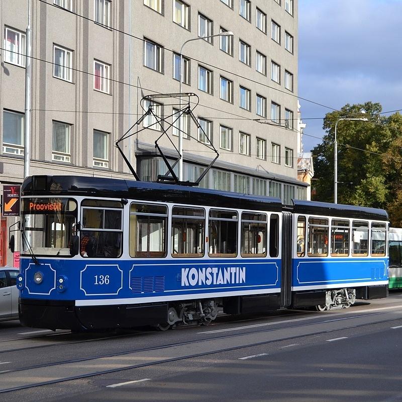 Vůz KT4TMR vznikl modernizací původního vozu KT4D ev. č. 136, který se do Estonska dostal jako ojetý z Cottbusu. (foto:Heini-Sten Poidjutsenko)