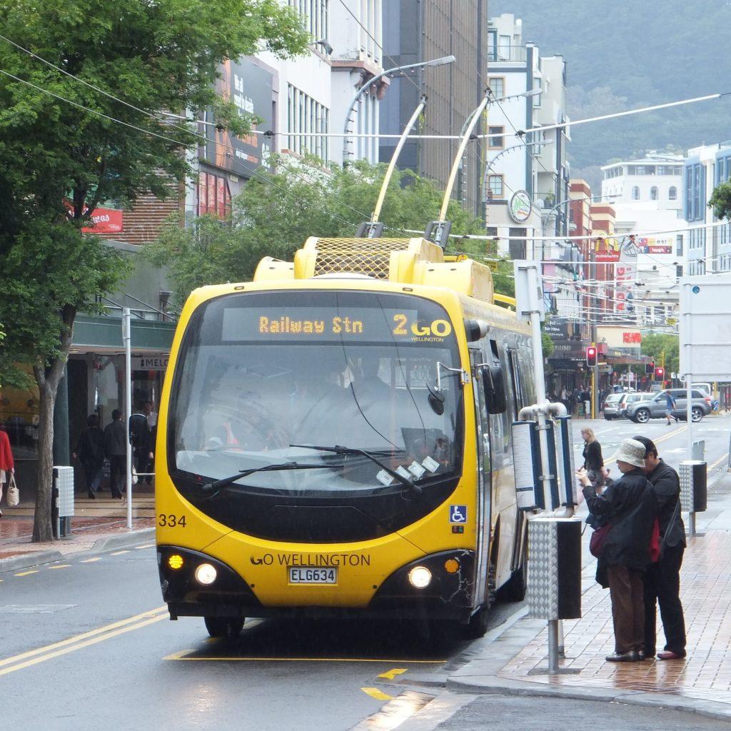 Trolejbusy v ulicích Wellingtonu jsou od úterý minulostí. (zdroj: Wikipedia.org)