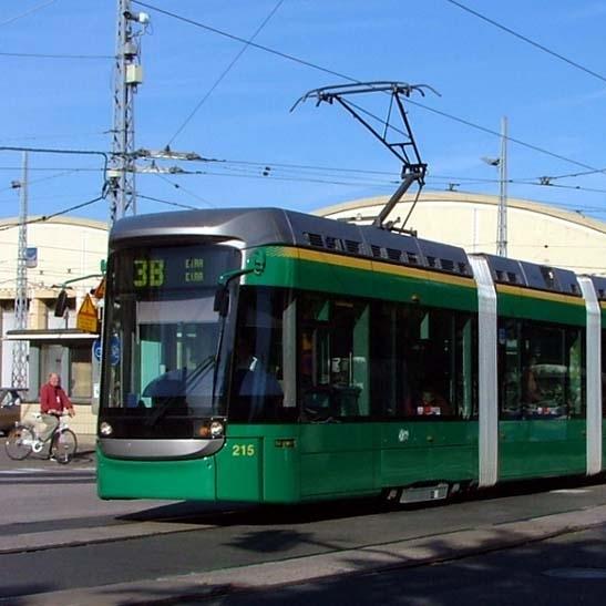 Tramvaje Variobahn vyrábí od doby převzetí Adtranzu Bombardierem Stadler. V podmínkách o převzetí společnosti Adtranz existovala jediná výjimka – kontrakt pro Helsinky. Ten se brzy ukázal pro výrobce jako nezvladatelný. (zdroj: Wikipedia.org)