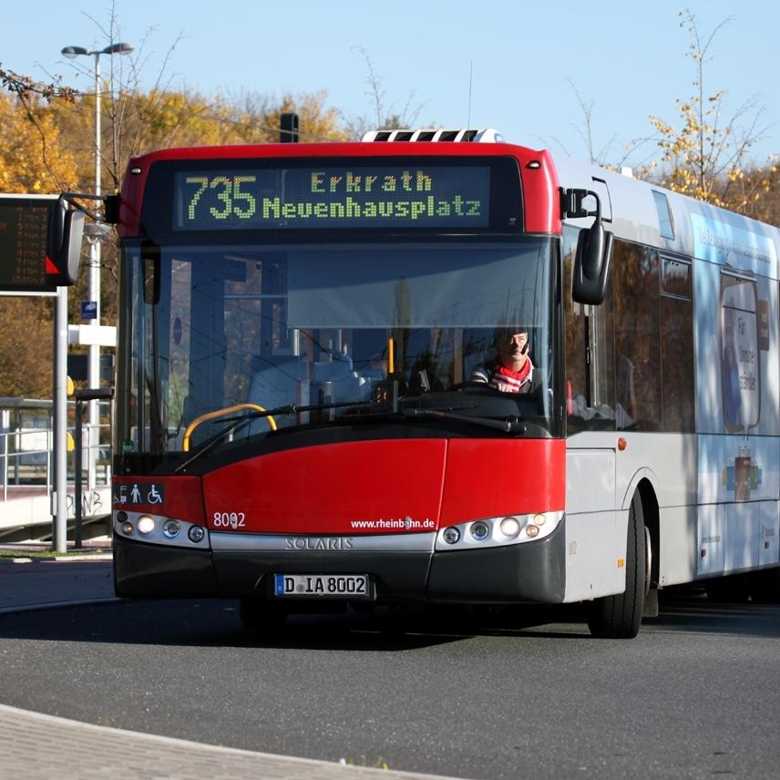 Solaris dodal do Düsseldorfu od roku 2005 již okolo 90 vozů. (foto: Rheinbahn)