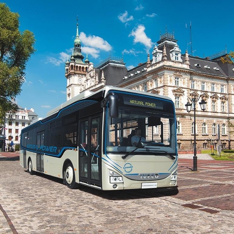 O plynovém voze Crossway Natural Power si mohli čtenáři přečíst podrobnosti v posledním vydání našeho časopisu. (foto: Iveco Bus)