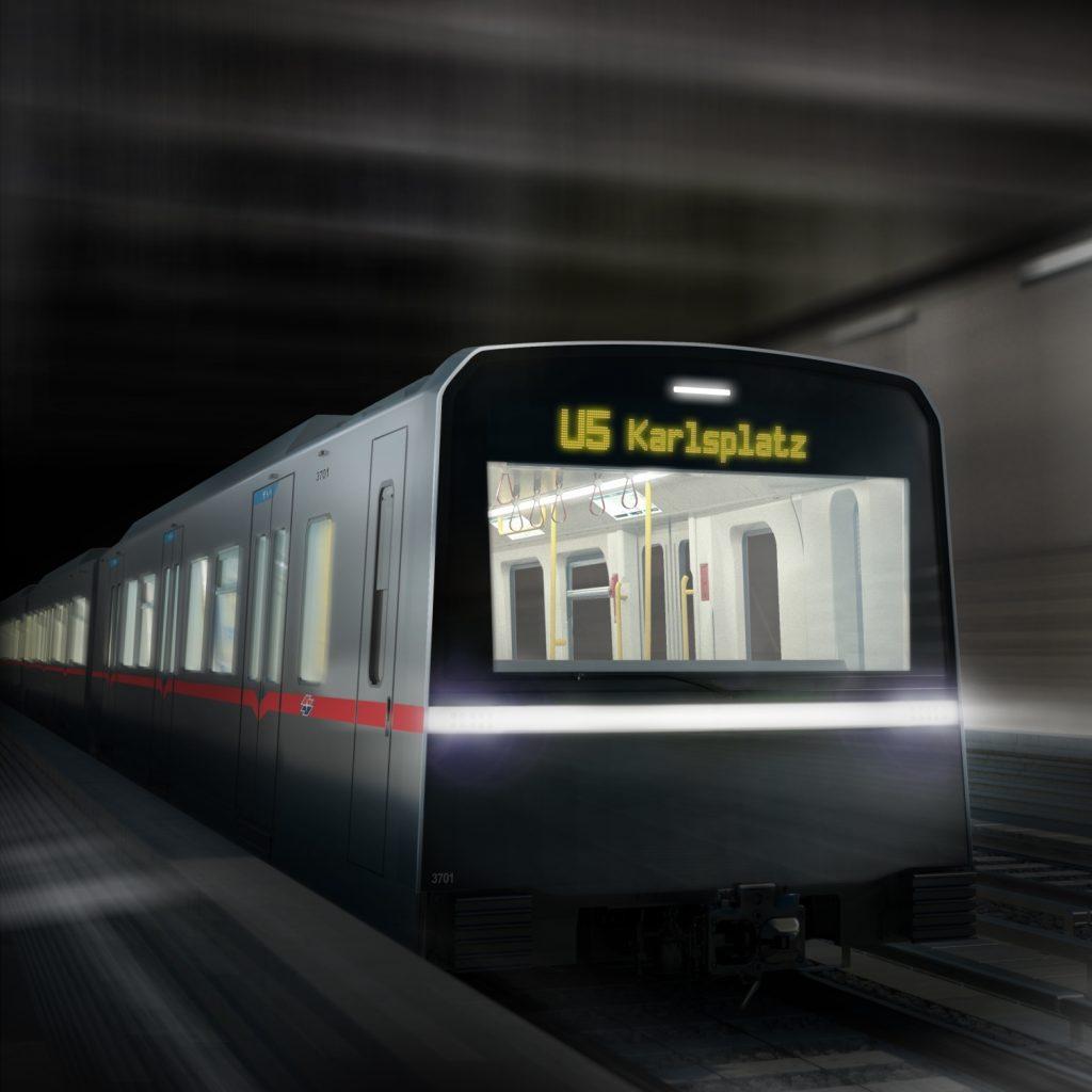 Nová řada X. Ne, to není iPhone, ale nová jednotka metra pro Vídeň. (foto: Wiener Linien)