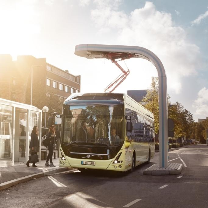 Volvo 7900 Electric na propagační fotografii výrobce. (foto: Volvo Buses)