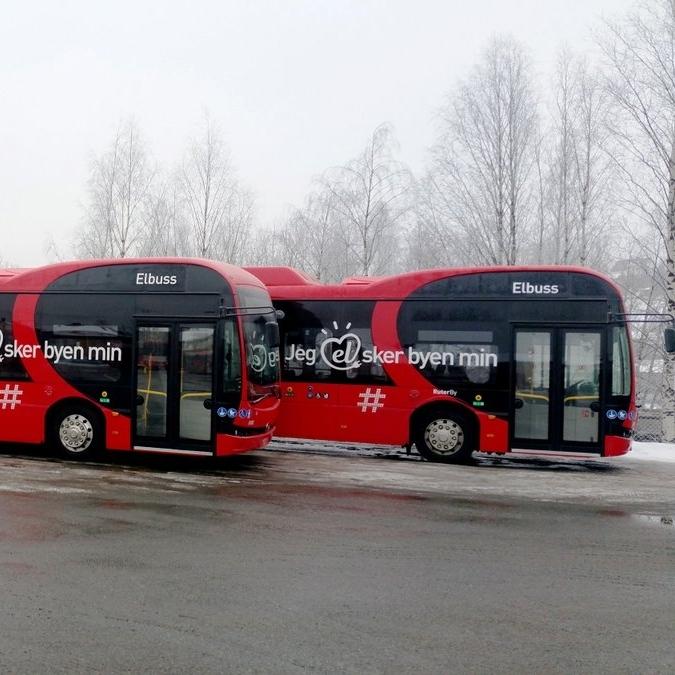 V Oslu jsou prozatím provozovány dva elektrobusy BYD. (foto: BYD)