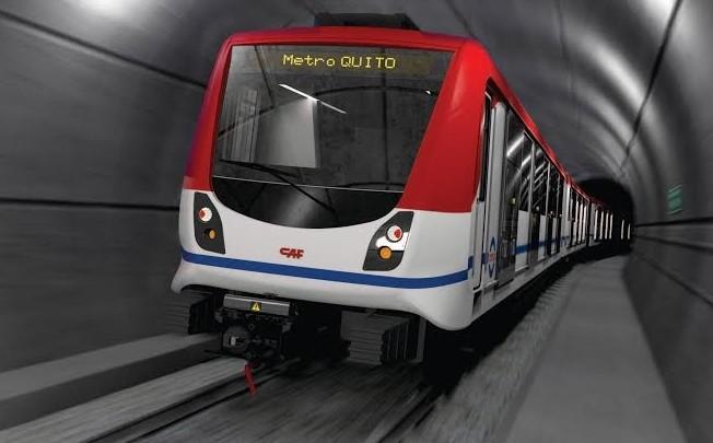 Metro pro Quito dodá španělský CAF. (zdroj: CAF)