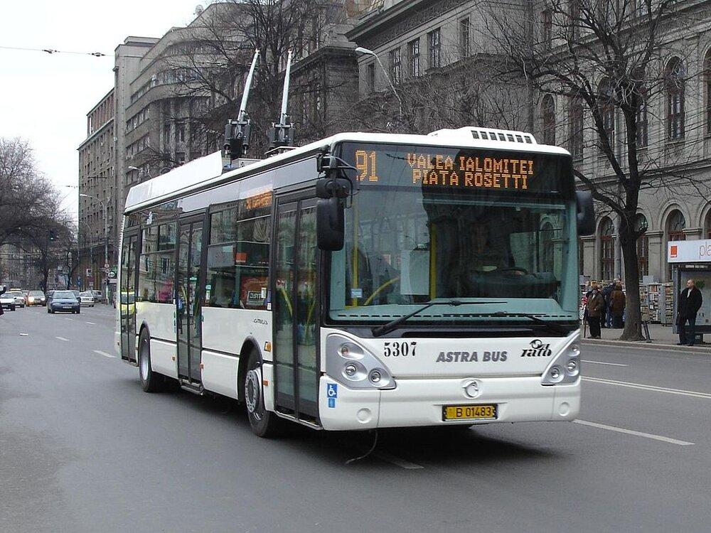 Trolejbus v Bukurešti. (foto: Wikipedia.org)