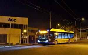 Do ulic severočeských Teplic vyjelo dalších 5 parciálních trolejbusů