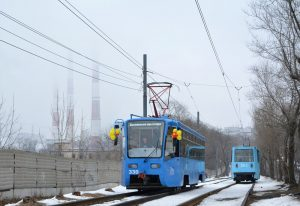 Ve Vladivostoku vyjely ex-moskevské tramvaje