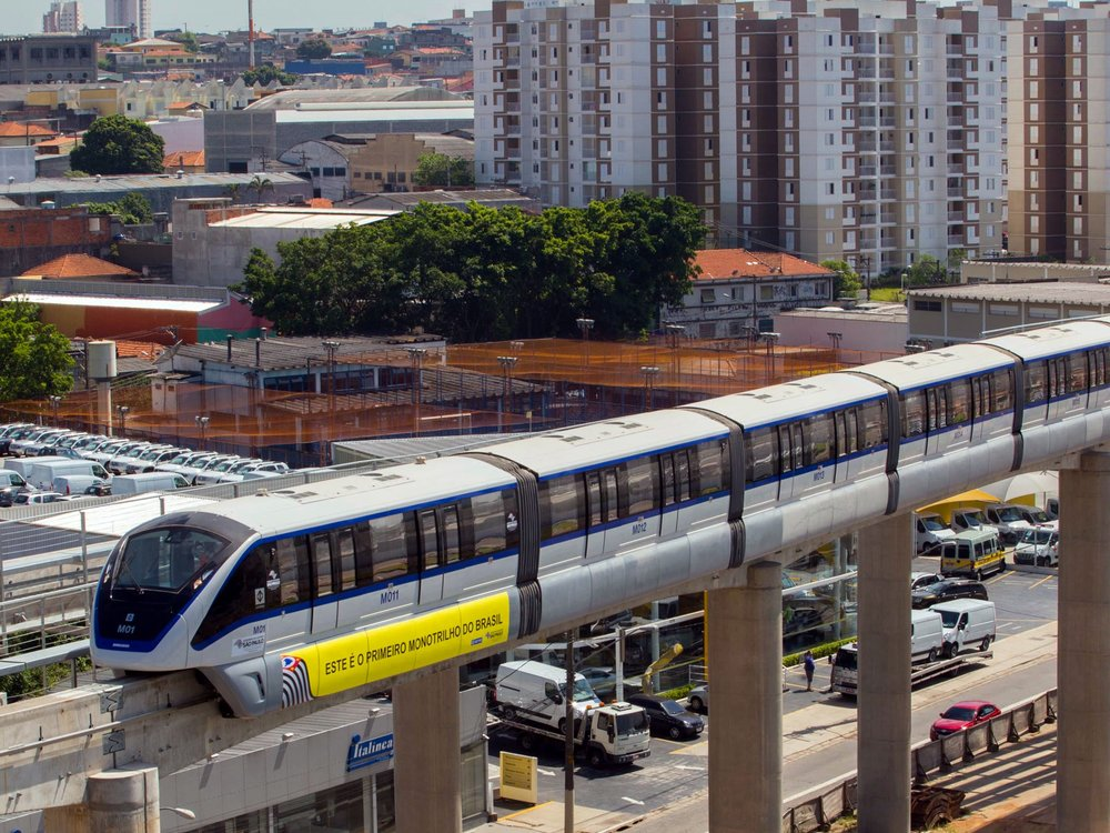 Monorail v San Paulu. (zdroj: Wikipedia.org)