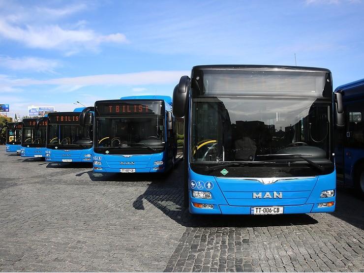 Do Tbilisi dodá MAN celkem 143 autobusů. (foto: MAN Truck & Bus)