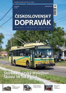 Vychází číslo 4/2019 časopisu Československý Dopravák