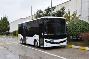 První autobus ISUZU Novociti Life pro Kolín dorazil do ČR
