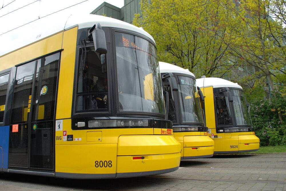 Tramvaje Bombardier Flexity Berlin. (foto: Libor Hinčica)