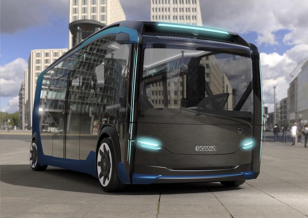 Autobusový modul budoucnosti? (foto: Scania)