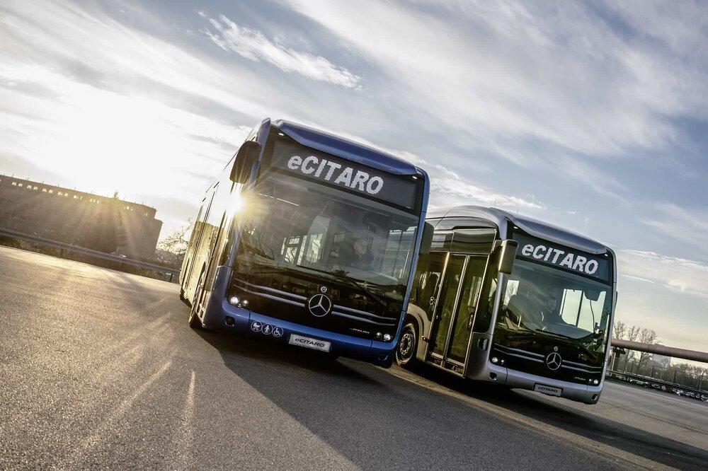 Autobusy Mercedes-Benz eCitaro. (foto: Daimler Buses)