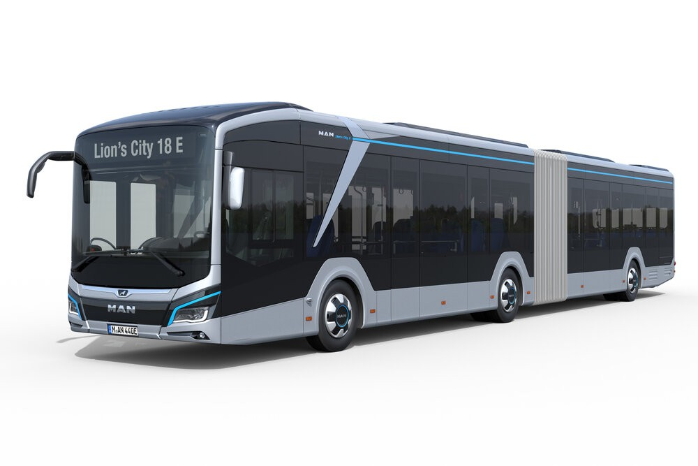 Elektrobus MAN Lion's City 18E. (foto: MAN Truck & Bus)