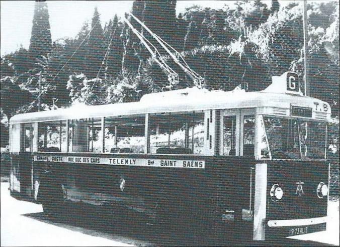 První sériové vozy typu CS 60 vmajetku společnosti Tramways Algériens obsluhovaly linku do čtvrti Télemly, odtud také jejich přezdívka.