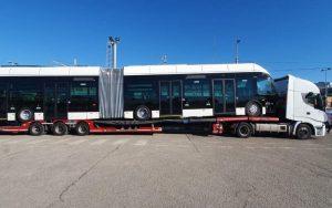 Do Rimini dorazil první nový trolejbus