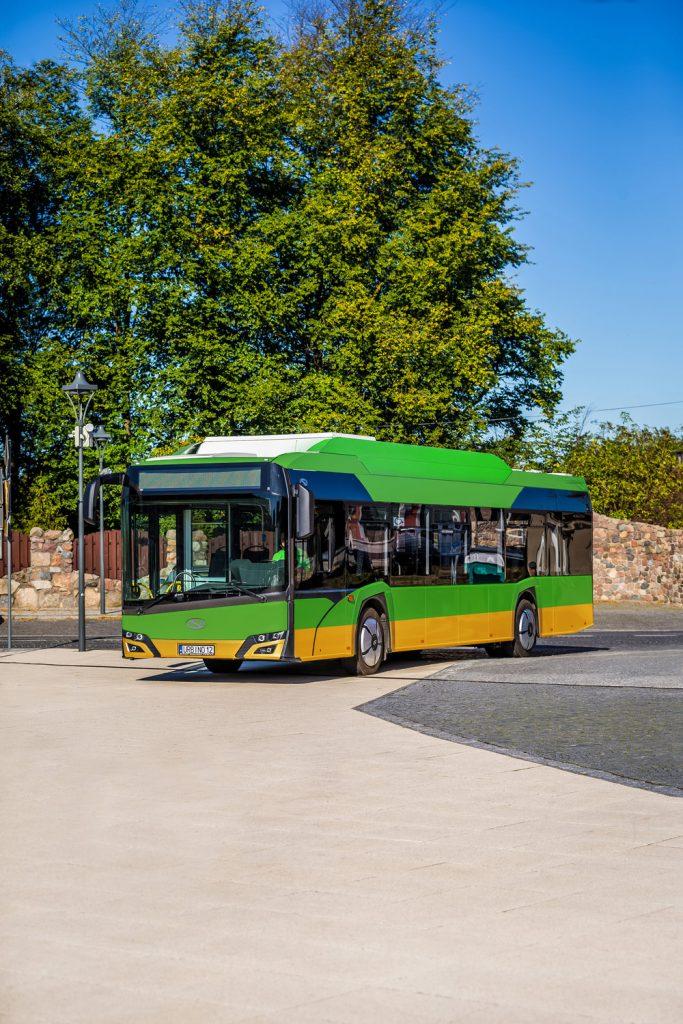 Vizualizace vozidla pro Poznaň ve 12m provedení. (foto: Solaris Bus & Coach)