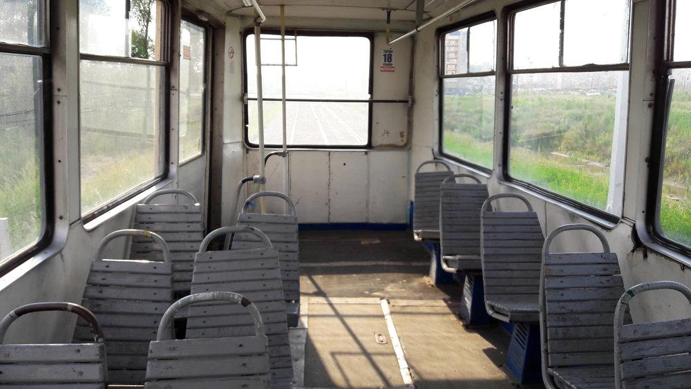 Některé tramvajové vozy jsou natom skvalitou bídně.