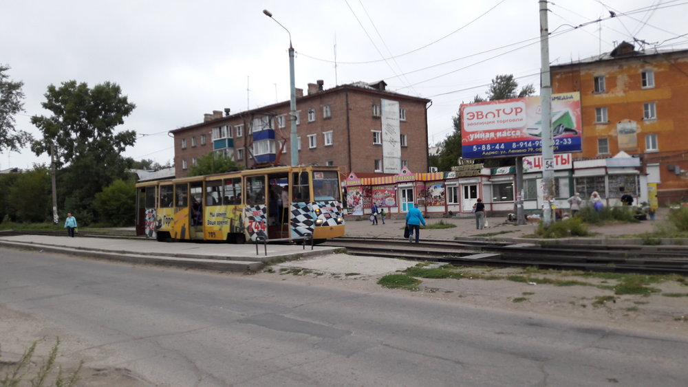 Tento a další snímky jsou pořízeny u zastávky Lenina.