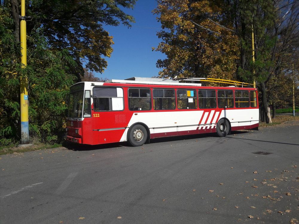 Konečná Solivar a odpočívající vůz 14 Tr.