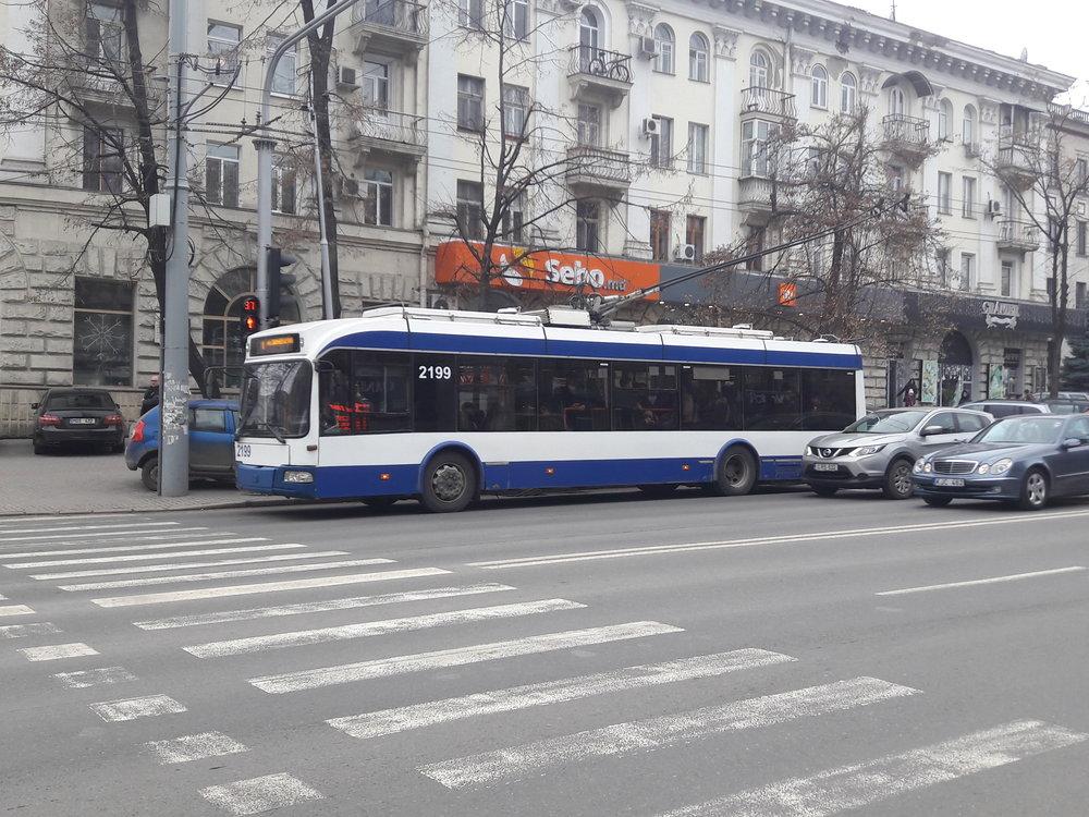 Vcentru Kišiněva dne 31. 12. 2018.
