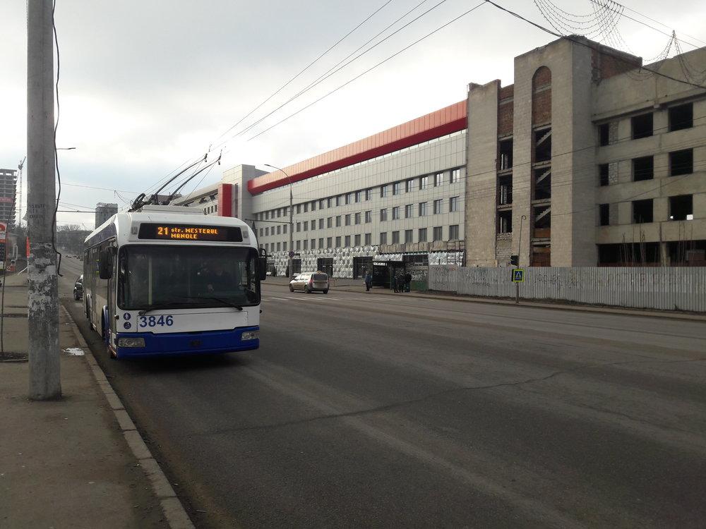 Ulice Mihai Viteazul.