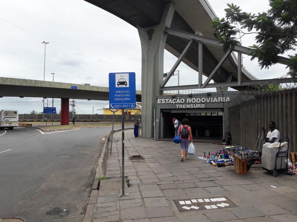 Koncový úsek od předposlední stanice při autobusovém nádraží kvýchozí stanici Mercado.