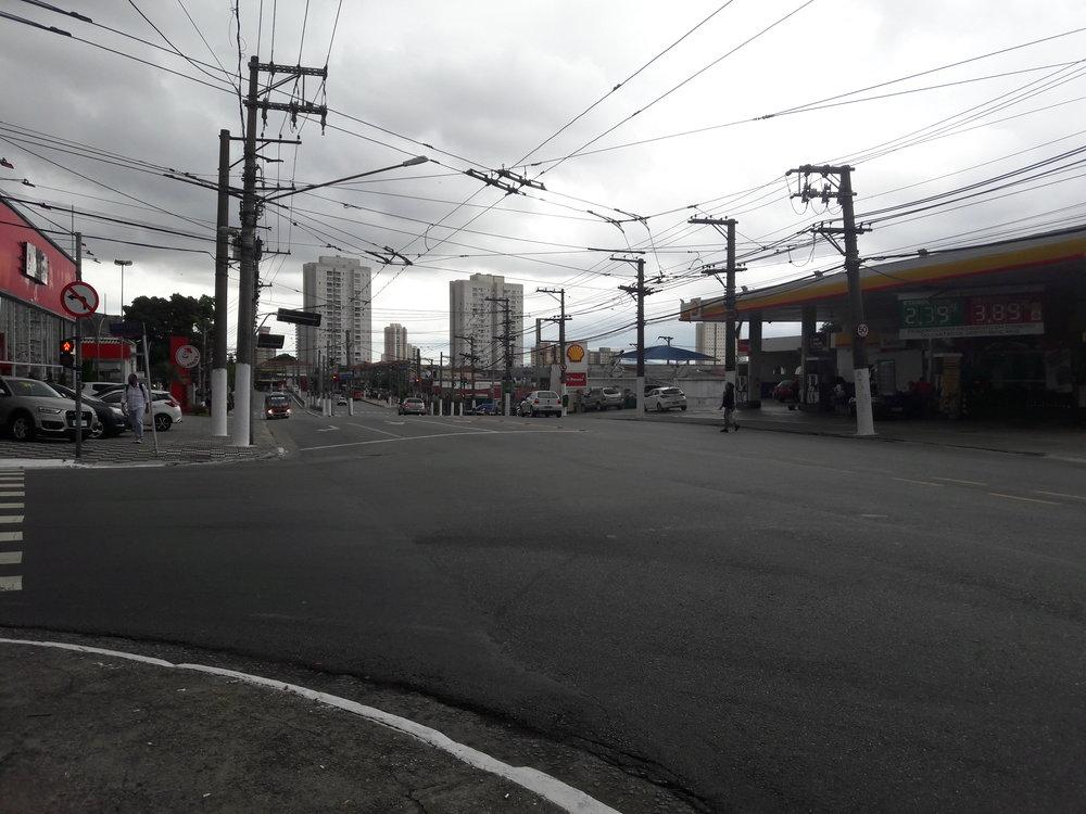 Při cestě zterminálu Penha naterminál Vila Carrão.