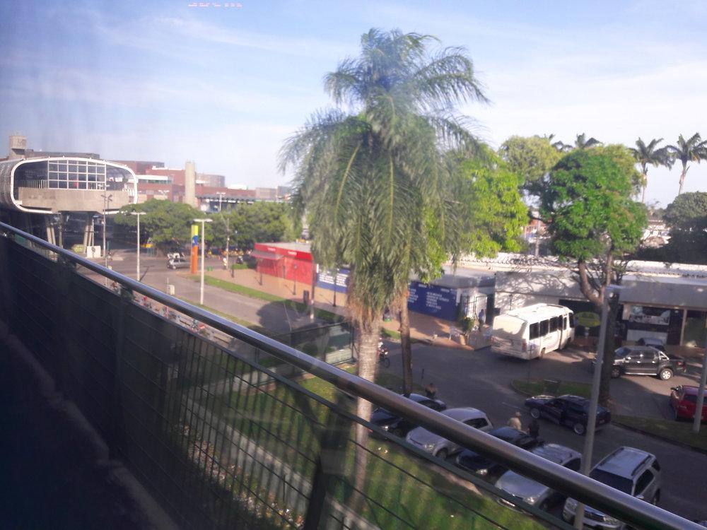 Přestupní stanice Parangaba.