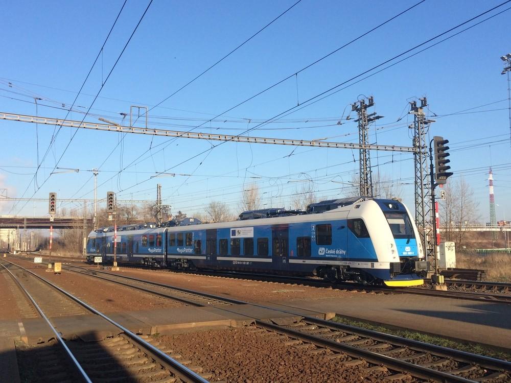 Moravskoslezský kraj má k dispozici dvě jednotky řady 650 RegioPanter pro obsluhu linky S4 k Letišti Leoše Janáčka. (foto: Libor Hinčica)