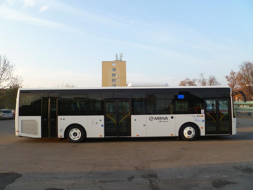Autobus Iveco Crossway 12 LE pro linky kolínské MHD. (foto: Arriva)