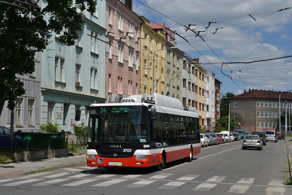 Trolejbus SOR TNB 12 je v Brně minulostí. (foto: Ing. Jiří Černý)