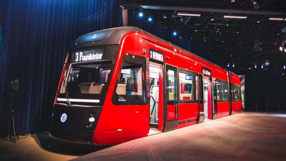 Maketa tramvaje Škoda Transtech pro Tampere. (foto: Tampereen Ratikka)