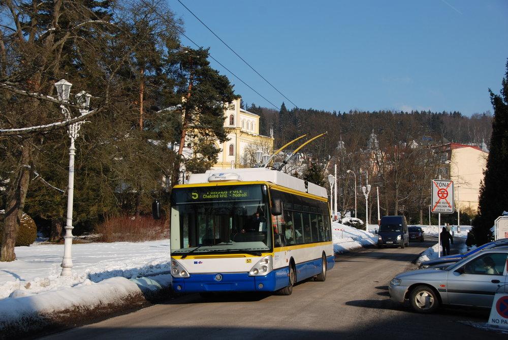 V současné době tvoří páteř vozového parku trolejbusů 5 vozů Škoda 24 Tr s karoserií Citelis z roku 2006. (foto: Libor Hinčica)