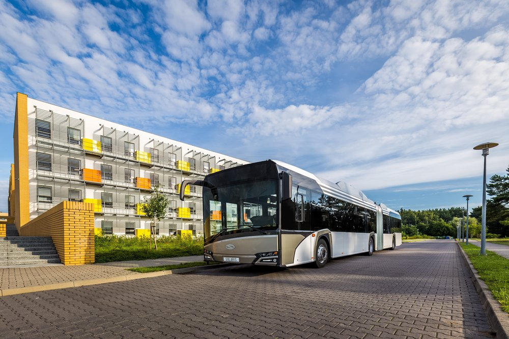 Solaris Urbino 18 electric. (foto: Solaris Bus & Coach)
