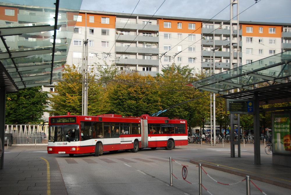 Salzburg vsází v elektromobilitě dál na trolejbusy. (foto: Libor Hinčica)