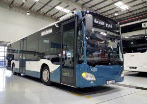99 autobusů Citaro v Abu Dhabi