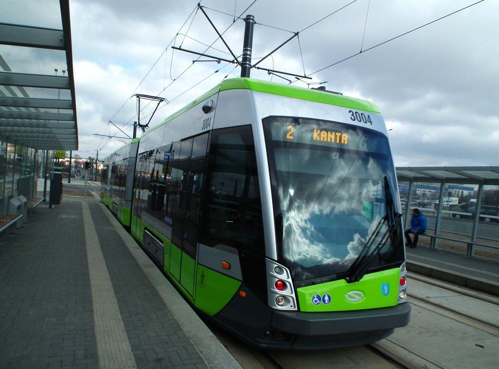 Na prvních 15 vozů Tramino další vozy téhož typu nenavážou. Výběrové řízení vyhrála turecká společnost.(zdroj: Wikipedia.org)