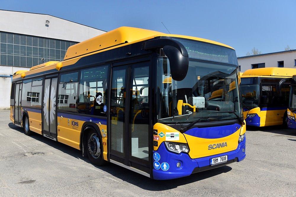 Jeden z prvních 8 dvanáctimetrových autobusů Scania Citywide s pohonem na CNG pro BORS Břeclav. (foto: BORS Břeclav)