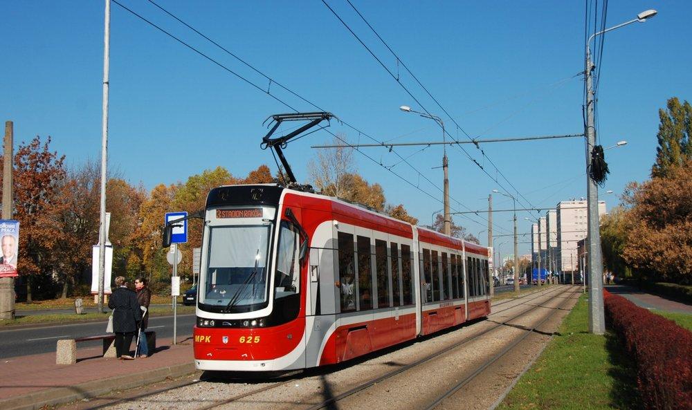 Tramvaj Pesa Twist v polské Częstochowé.(foto: Libor Hinčica)