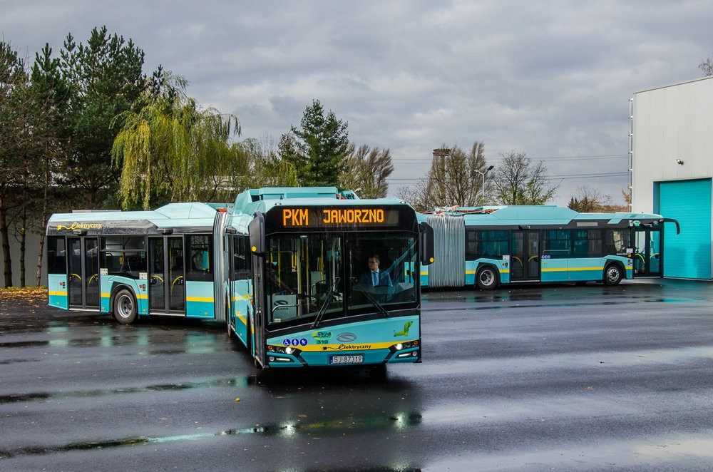18m New Urbino electric v Jaworzně. (foto: Solaris Bus & Coach)