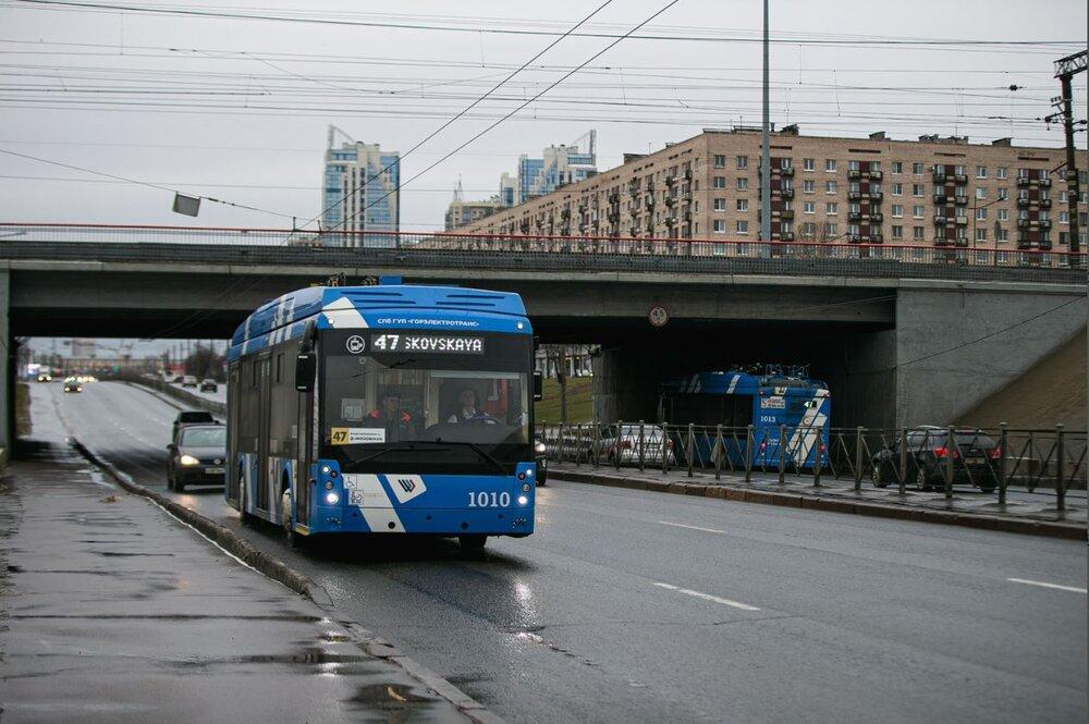 Parciální trolejbus na snímku z března 2020. (foto: Gorelektrotrans)