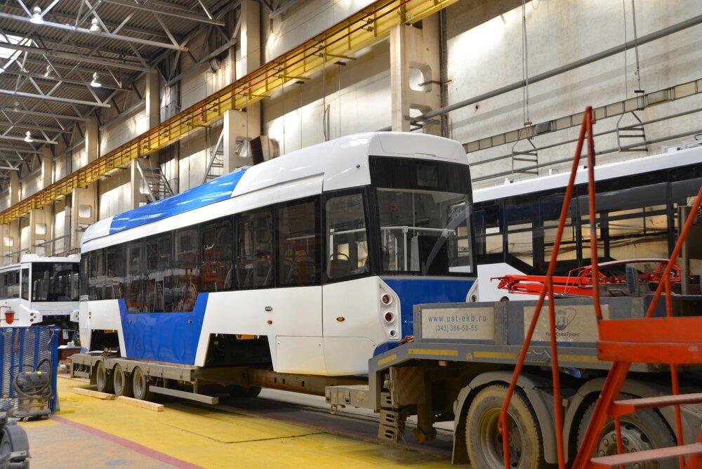Nová tramvaj. (foto: Uraltransmaš)