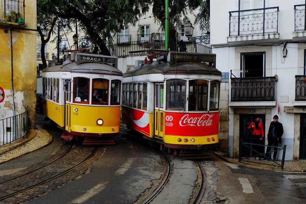 Nové tramvaje budou sloužit na lince č. 15. Na všech ostatních jezdí stále staré tramvaje, jež jsou současně turistickou atrakcí. (Zdroj: pixabay.com)