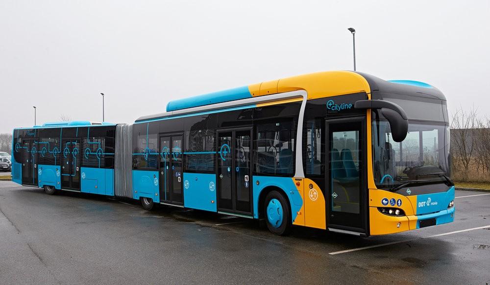 Netradiční vzhled vozu MAN Lion's City GL A40 CNG pro Kodaň. (foto: MAN Truck & Bus)