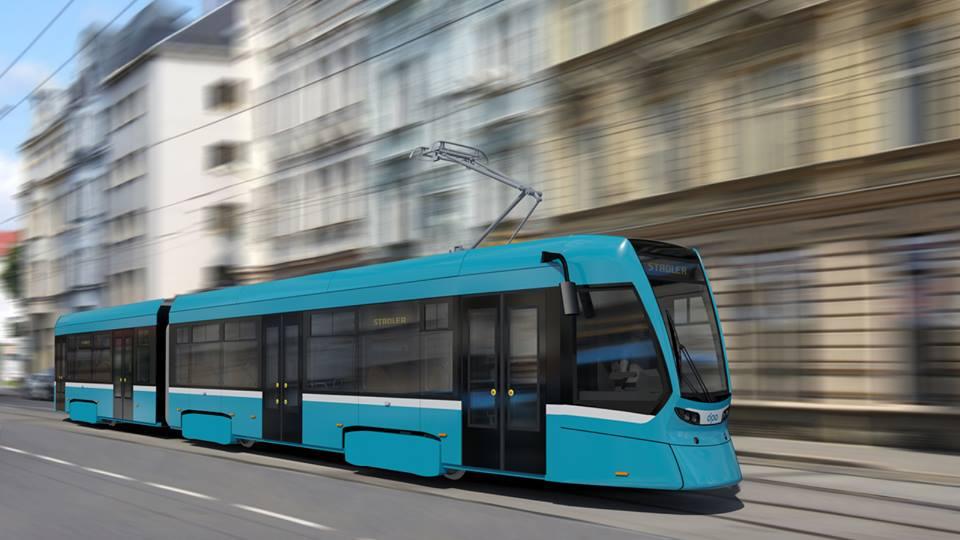 Pozměněný vzhled tramvaje Tango NF2 Ostrava. (zdroj: Dopravní podnik Ostrava)