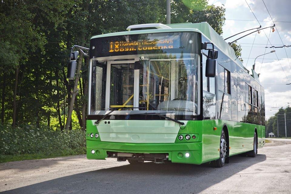 Charkovský trolejbus. (foto: Bogdan)