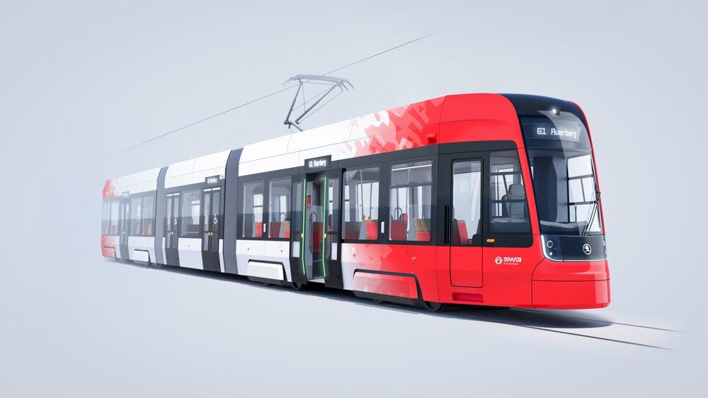 Návrh tramvaje Škoda Forcity Smart pro Bonn. (foto: Škoda Transportation)